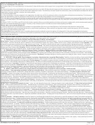 DA Form 67-10-1A Officer Evaluation Report Support Form, Page 4