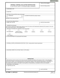 DA Form 11-2  Fillable Pdf