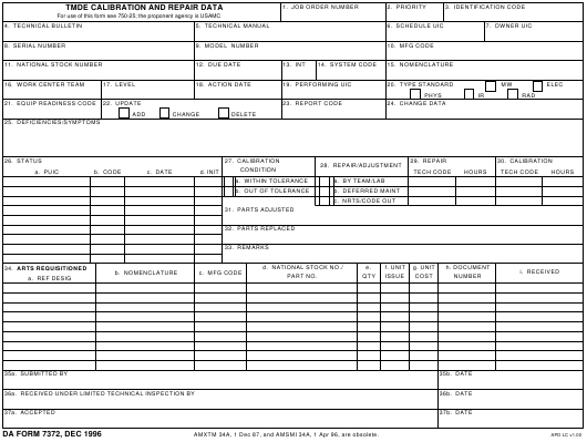da-form-7372-tmde-calition-and-repair-data_big Online Form Fill Up For Job on out worksheets, seal machines stirrers, seal machines paper, seal packaging packs, vertical candy, ux design search, indian bank dd, out resume, out for first employee, out tax, out name,