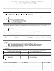 DA Form 4797 International Standardization Agreement Ratification - Implementation Data Sheet