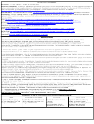 DD Form 149 Application for Correction of Military Record Under the Provisions of Title 10, U.S. Code, Section 1552, Page 2