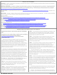 DD Form 293 Application for the Review of Discharge From the Armed Forces of the United States, Page 3