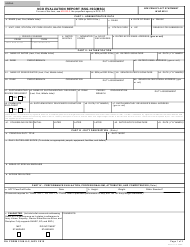 "DA Form 2166-9-2 ""NCO Evaluation Report (SSG-1sg/MSG)"""