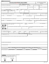 DA Form 2166-9-2 NCO Evaluation Report (SSG-1sg/MSG)