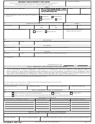 DA Form 31 Request and Authority for Leave