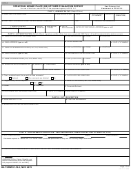 DA Form 67-10-3 Strategic Grade Plate (O6) Officer Evaluation Report