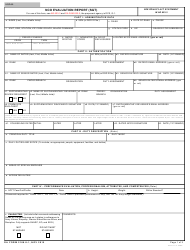 DA Form 2166-9-1 NCO Evaluation Report (Sgt)