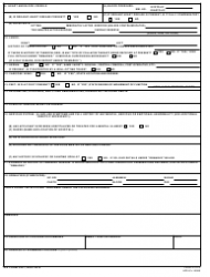 DA Form 3437 Certificate of Medical Examination, Page 2