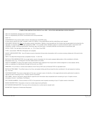 DA Form 4283 Facilities Engineering Work Request, Page 2
