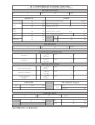 DA Form 5701-17 Mi-17 Performance Planning Card (Ppc)