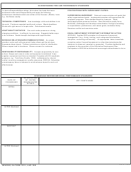DA Form 7223-1 Base System Civilian Performance Counseling Checklist/Record, Page 2