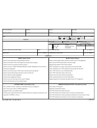 DA Form 7541-1-9 Scorecard for M41 Improved Target Acquisition System (Itas) Gunnery: Table 9, Section Practice, Page 2