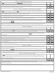 DA Form 7759 United States Army Explosive Ordnance Disposal (Eod) Interview Checklist, Page 2