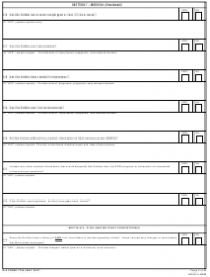 DA Form 7759 United States Army Explosive Ordnance Disposal (Eod) Interview Checklist, Page 6
