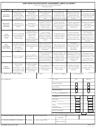 DA Form 7764-8 Army Musician Proficiency Assessment (Ampa) (Clarinet), Page 2