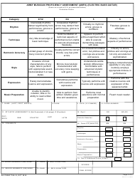 DA Form 7764-14 Army Musician Proficiency Assessment (Ampa) (Electric Bass Guitar), Page 2