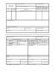 DD Form 375-2 Delay in Delivery