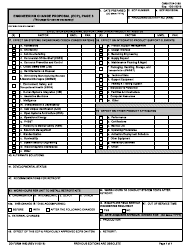 DD Form 1692/3 Engineering Change Proposal (Ecp), Page 3