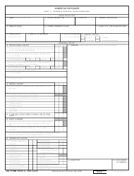 DD Form 2493-2 Asbestos Exposure, Part Ii - Periodic Medical Questionnaire