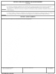 "DD Form 3018 ""Phased Retirement Request and Agreement"", Page 4"