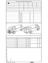 DD Form 788-1 Private Vehicle Shipping Document for Van