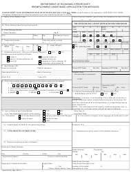 "Form ETA-81 ""Reemployment Assistance Application for Services"" - Florida"