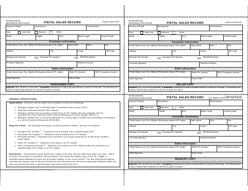 Form RI-060  Printable Pdf