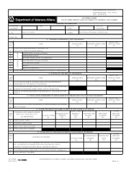 VA Form 10-5588 State Home Report and Statement of Federal Aid Claimed