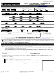 VA Form 22-1990 Application for VA Education Benefits, Page 4