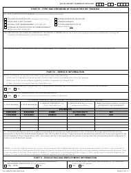 VA Form 22-1990 Application for VA Education Benefits, Page 5