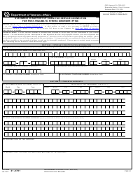 VA Form 21-0781 Statement in Support of Claim for Service Connection for Post-traumatic Stress Disorder (Ptsd)