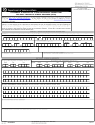 "VA Form 21-0781 ""Statement in Support of Claim for Service Connection for Post-traumatic Stress Disorder (PTSD)"""
