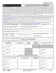 VA Form 21-686c Declaration of Status of Dependents