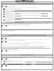 "VA Form 21-0960D-1 ""Oral and Dental Conditions Including Mouth, Lips and Tongue (Other Than Temporomandibular Joint Conditions) Disability Benefits Questionnaire"", Page 4"