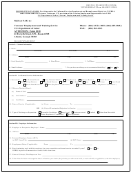 "ETA Form 1010 ""Eligibility Data Form"""