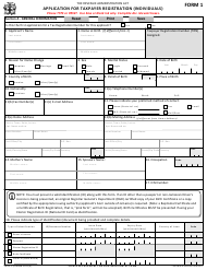 "Form 1 ""Application for Taxpayer Registration (Individuals)"" - Jamaica"
