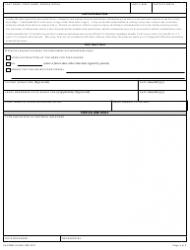 """VA Form 10-5345 """"Request for and Authorization to Release Health Information"""", Page 2"""
