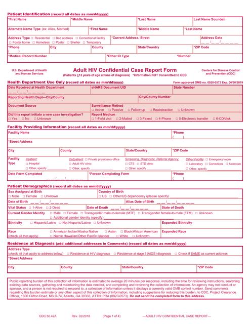 Form 50.42A  Printable Pdf