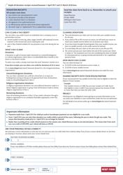 Form IR 526 2018 Tax Credit Claim Form, Page 2