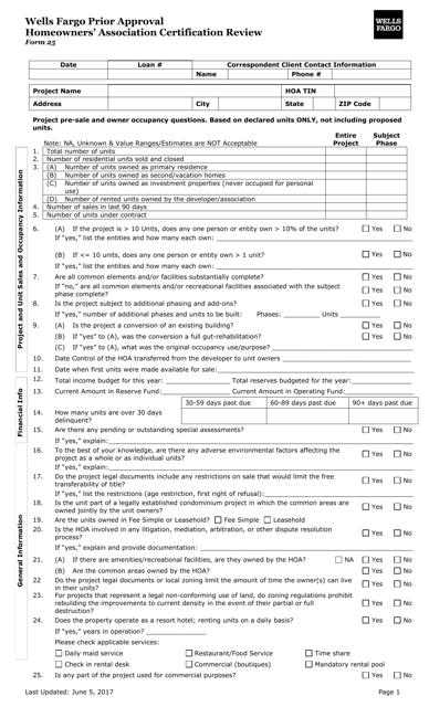 Form 25  Fillable Pdf