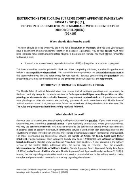 Form 12.901(B)(1)  Printable Pdf