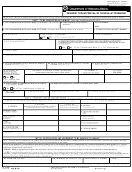 "VA Form 21-674 ""Request for Approval of School Attendance"""