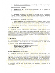 2018 Application Form for Grant of Short Service Commission in Army Dental Corps, Page 10