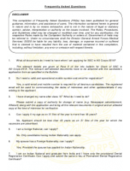 2018 Application Form for Grant of Short Service Commission in Army Dental Corps, Page 12