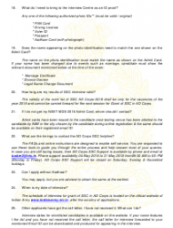 2018 Application Form for Grant of Short Service Commission in Army Dental Corps, Page 14