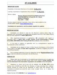 2018 Application Form for Grant of Short Service Commission in Army Dental Corps, Page 2