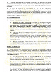 2018 Application Form for Grant of Short Service Commission in Army Dental Corps, Page 6