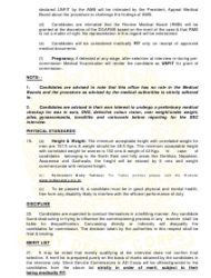 2018 Application Form for Grant of Short Service Commission in Army Dental Corps, Page 7