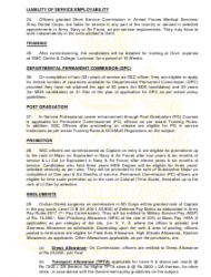 2018 Application Form for Grant of Short Service Commission in Army Dental Corps, Page 9