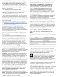 Instructions for IRS Form 1096, Form 1097, Form 1098, Form 1099, Form 3921, Form 3922, Form 5498, Form W-2g - General Instructions for Certain Information Returns 2018, Page 19